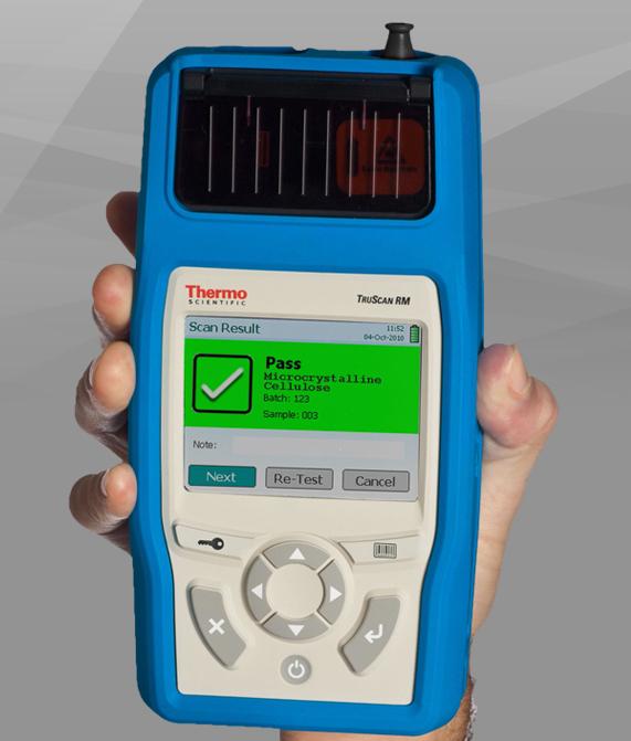 Draagbare Raman Toestellen / Les Spectromètres Raman Portables